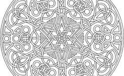 Small Picture Adult Mandala Coloring Page Printable SnowmanMandalaPrintable