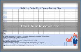 Blood Pressure Monitoring Chart Download How To Take A Dogs Blood Pressure Lovetoknow