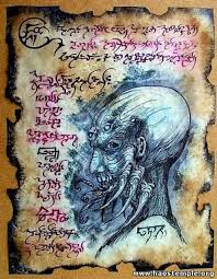 cthulhu art spell books motorcycle art dark fantasy fantasy art art tattoos evil dead book magick dark art more information saved by akame kag