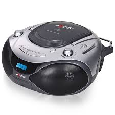 Small Cd Player For Bedroom Axess Portable Cd Mp3 Boombox With Am Fm Stereo And Aux Input