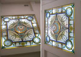 custom made stained glass sky lights