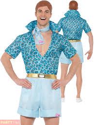 Ladies Barbie Costume Mens Safari Ken Fancy Dress  Sc 1 St EBay