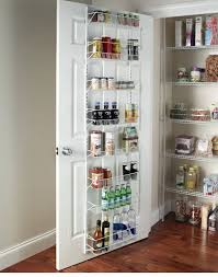 ... Adjustable 8-Tier Wall and Door Rack | Easy Kitchen Storage Ideas for Small  Spaces
