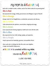 mother s day simile poems ultimate kids board my mom is a rainbow poem by kim vij valk chuah educators spin on it perfect gift idea for mother s day