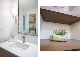 bathroom remodel des moines. White Modern Bathroom Remodel By Silent Rivers Des Moines Features Wood Floating Shelves To Add Open S