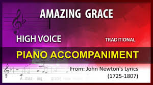 Amazing Grace Karaoke Traditional High ...