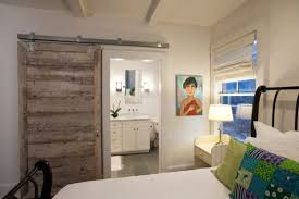 How To Make The Most Of A Barn Door In A Bedroom Bathroom Scenario