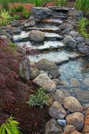 garden fountain astonishing outdoor rock fountains rock waterfall ideas 95 natural fountain garden