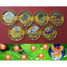 Thẻ Toonies Pokemon Gold ( bộ 7 thẻ vàng 2021 ) giá cạnh tranh