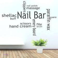 conventional wall decor for salon g0050430 nail salon wall decor luxury bar vinyl decal beauty decorating