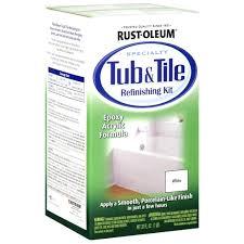 rustoleum tub tile paint