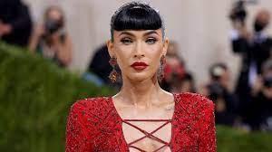 Megan Fox's Met Gala 2021 look is red ...