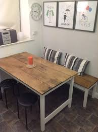 ... Kitchen Table Bench Prepossessing Kitchen Table With Bench ...