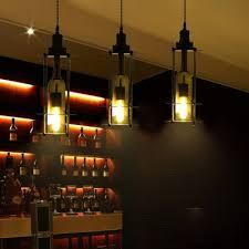 wine bottle ceiling pendant lights