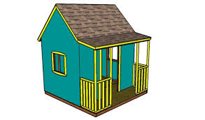 outdoor playhouse plans