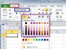 Excel Themes Change The Themes Excel Exercise