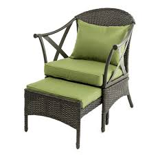 wicker patio furniture set with