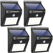 Best Solar Motion Light Reviews Urpower Solar Lights Wireless Waterproof Motion Sensor Outdoor Light For Patio Deck Yard Garden With Motion Activated Auto On Off 4 Pack