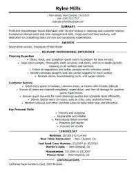 Hospital Housekeeping Resume Sample Topshoppingnetwork Com