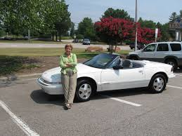 com the world s largest buick reatta parts robin w of atlanta ga and her 1990 convertible she bought from us