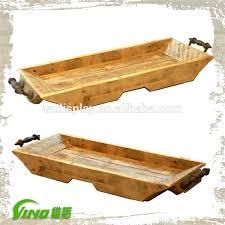 wooden tray with handles metal handles rust wooden trays wooden tray with metal handle antique tray