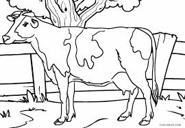 Small Picture Cow coloring page printable Archives Printable Coloring page for