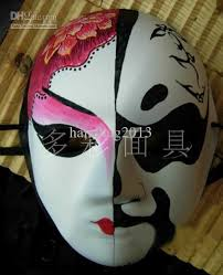 Decorating A Mask Unpainted Thicken Men's Blank Masks For Decorating Environmental 9