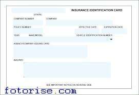 state farm policy number format car card template detailing business insurance word free fake auto