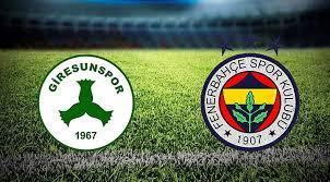 Fenerbahçe Giresunspor Maçı Ne Zaman Hangi Kanalda - Sporlive Spor Haberleri