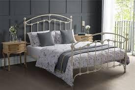 white wrought iron bed. Exellent Wrought KING SINGLE KATRINA CAST AND WROUGHT IRON BED  WHITE In White Wrought Iron Bed