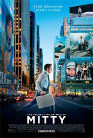 the secret life of walter mitty film  the secret life of walter mitty a side profile of a man running a silver briefcase in hand behind him
