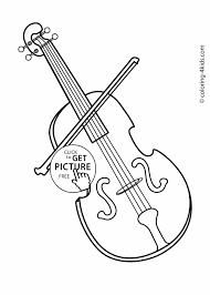 Small Picture Free Coloring Pages Of Musical Instruments 30 On Line Drawings