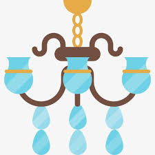 512x512 chandelier cartoon light png and psd file for free