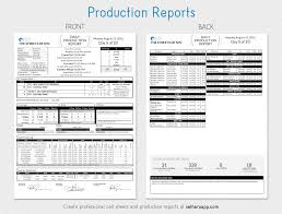 Mobi Descargar Daily Production Report Template Medium Sethero