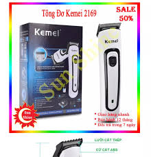 Tông đơ cắt tóc trẻ em - Tông đơ mini - Tăng đơ cắt tóc - Máy hớt tóc - Máy cắt  tóc Kemei KM2169 chất lượng tương đương Tông đơ wahl