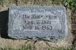 Effie Zimmerman (1871-1963) - Find A Grave Memorial
