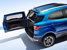2018 ford ecosport. perfect ford 2018 ford ecosport rear tailgate open photo with ford ecosport