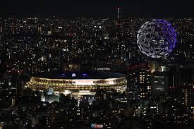 تضمن حفل افتتاح أولمبياد طوكيو عرضًا ضوئيًا مع 1800 طائرة بدون طيار