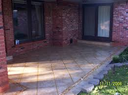 enchanting tile for patio