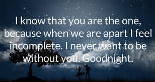 Goodnight Love Quotes For Boyfriend