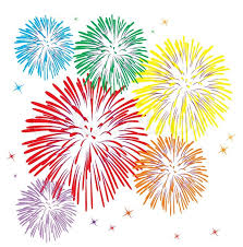 new years fireworks white background. For New Years Fireworks White Background