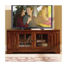 Image Troy Brook 34161 Riverside Furniture Visions Iii Home Entertainment Tv Console Overstock 34161 Riverside Furniture 60 Inch Tv Consolebordeaux Cherry