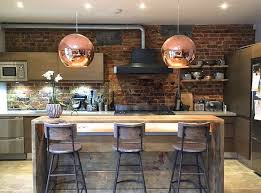 industrial style lighting. lighting ideas for your industrial style kitchen 2