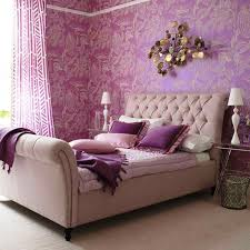 A Modern And Luxurious Purple Bedroom, Perfect For Your Boudoir!
