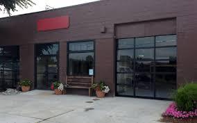 model k al full view aluminum commercial garage door