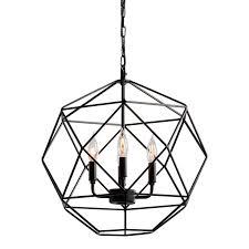 geometric dome world market chandelier