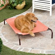 Coolaroo Elevated Pet Bed Terra Cotta