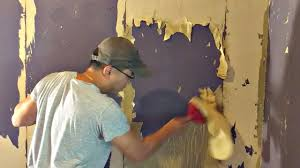 how to remove wallpaper glue that has