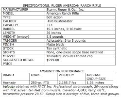 Bolt Action Thumper 450 Bushmaster Ruger American Ranch
