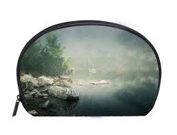 Custom Fog Designs Amazon Com Custom Design Portable Toiletry Cosmetic Bag A
